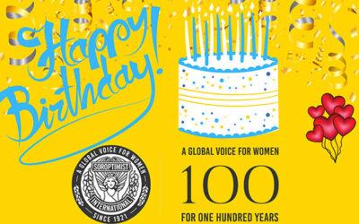 Soroptimist 100th Anniversary